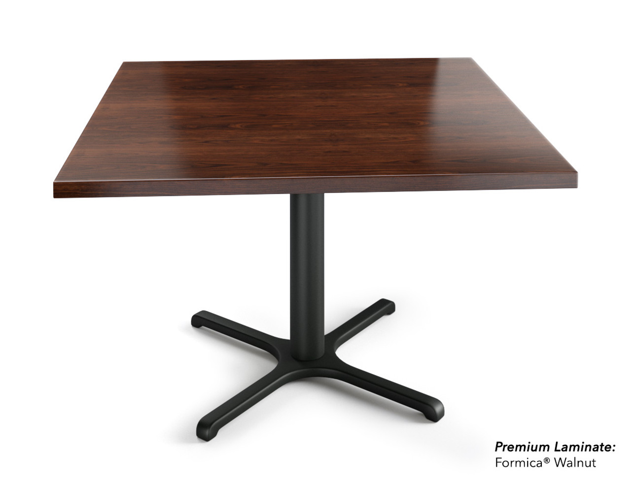 Square 48 Square 60 Restaurant Table On Heavy Duty Base Modernlinefurniture