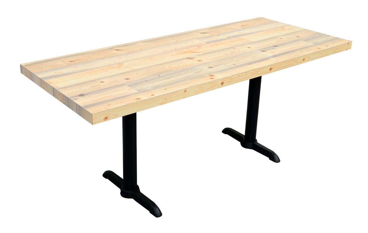 Rectangle 36 X 60 Rectangle 36 X 72 Restaurant Table On Heavy Duty Base Modernlinefurniture