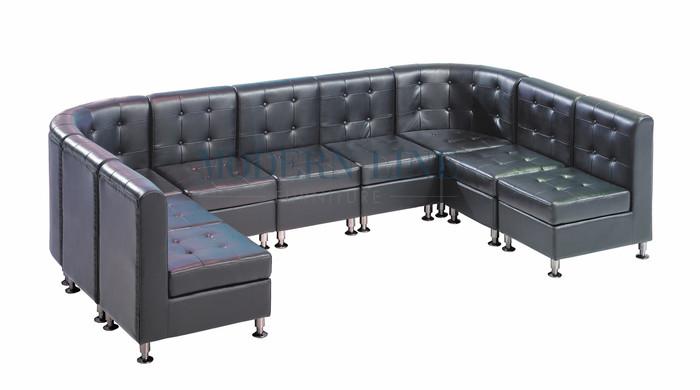9077 Modular Furniture U Shape Sectional Sofa Made In Usa