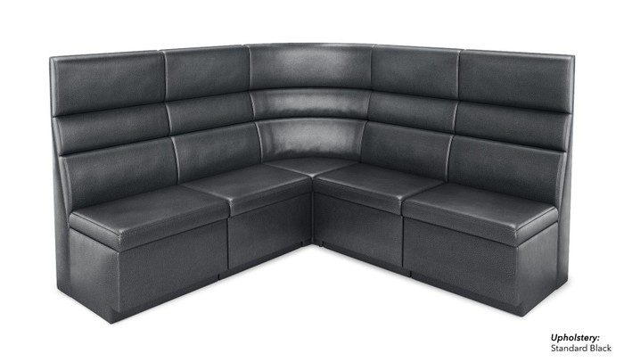 602 V Shape Banquette Seating Modular Seat Made In Usa