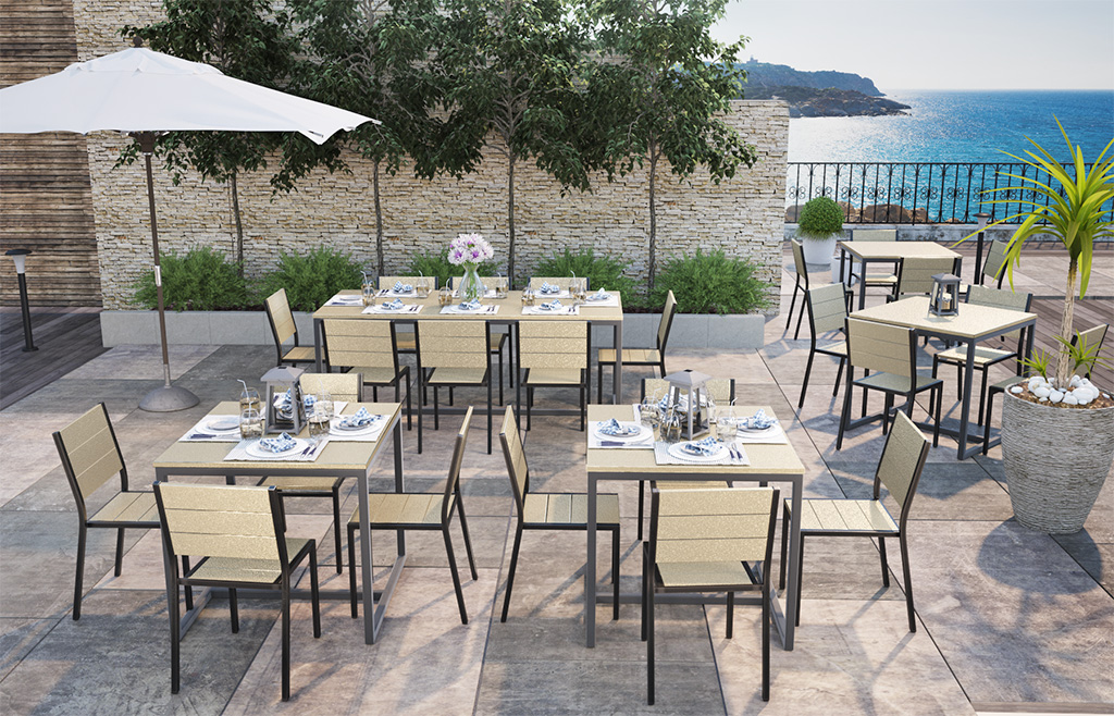 Outdoor Tables, Chairs and Bar Stools