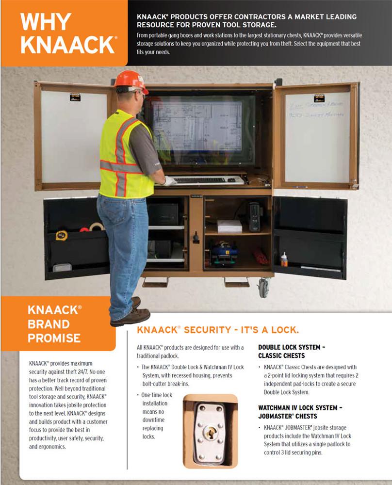 Knaack Model 1020 MONSTER BOX Cabinet, 52 cu ft