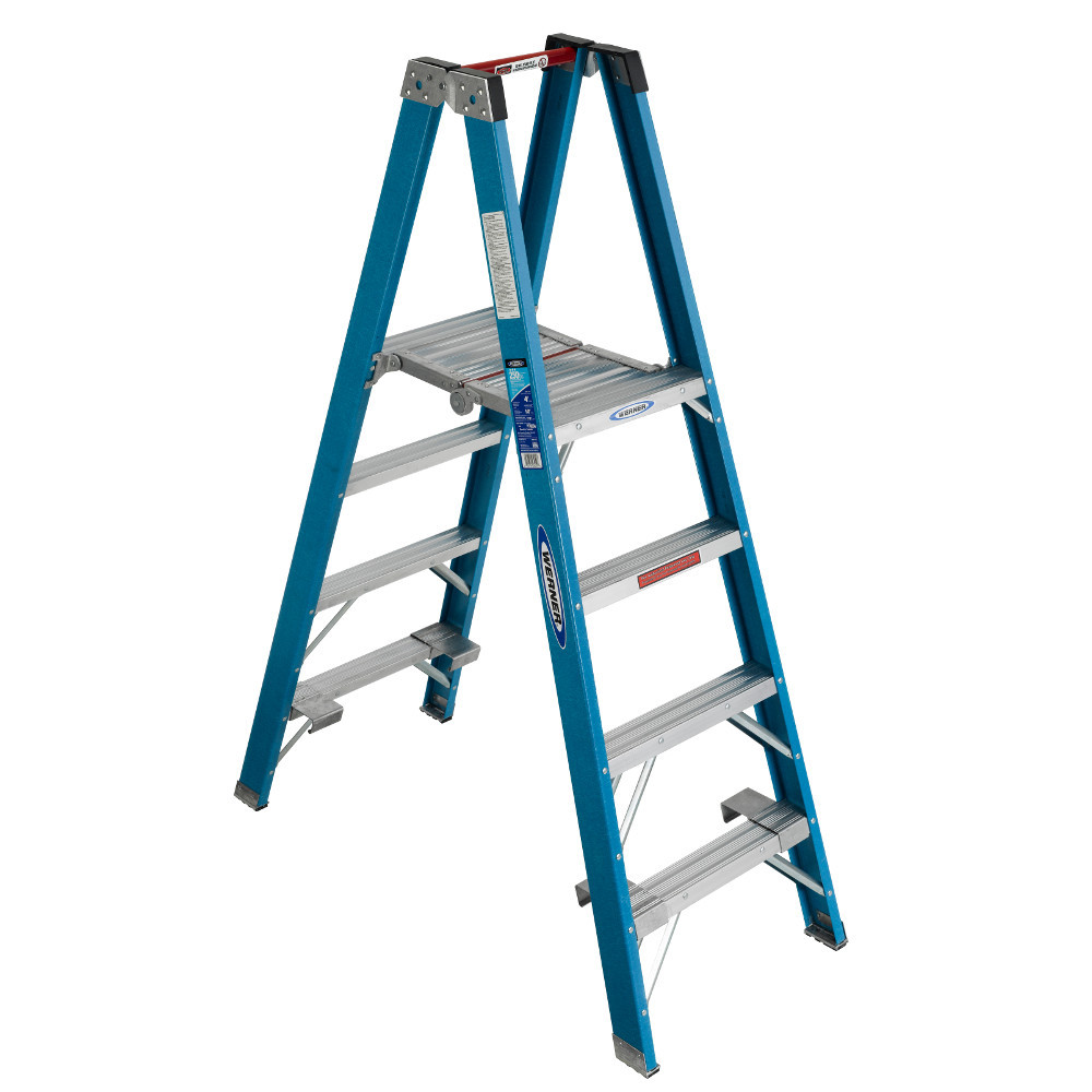 Werner Pt6000 Series Quot Stockr S Quot Ladder 250 Lb Rated