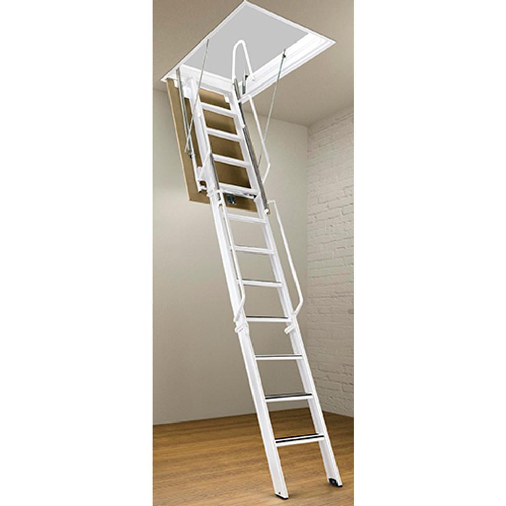Rainbow F-Series Steel Attic Ladders - 12' Heights