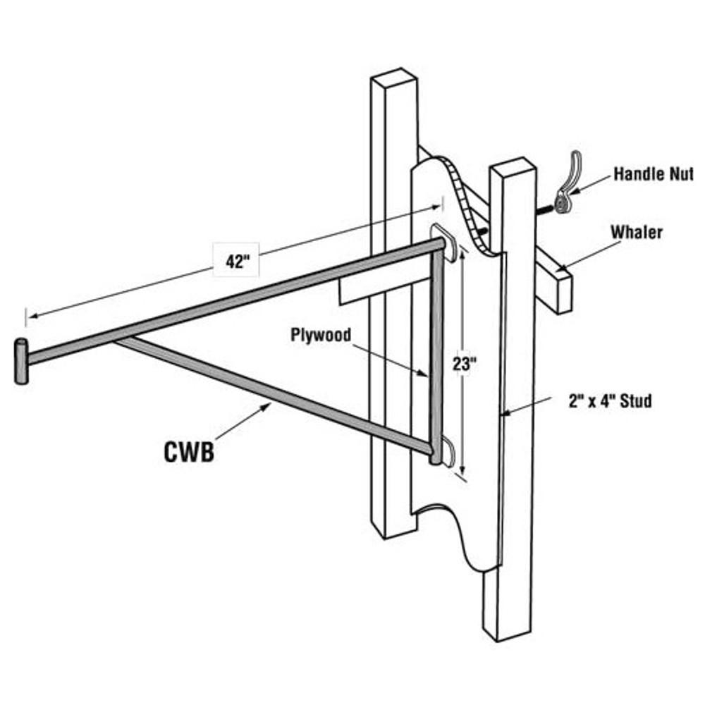 Closeout | Vanguard CWB - Carpenters Wall Bracket
