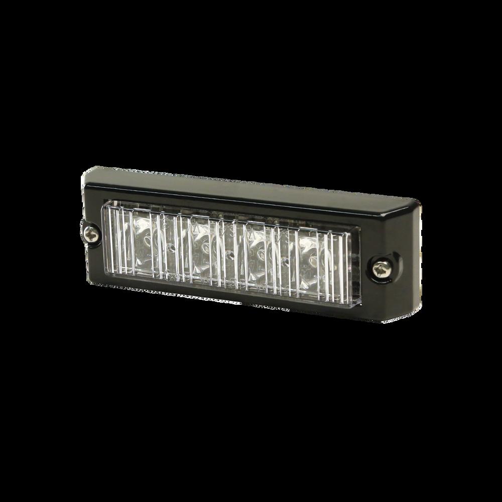 ECCO 3704 Directional LED: Surface mount, 12-24VDC, 11 flash patterns