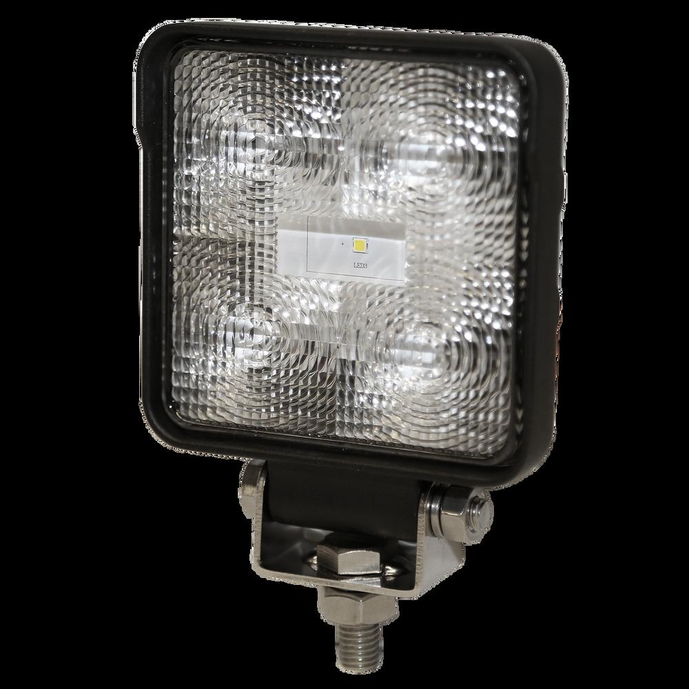 ECCO E9200X Worklamp: LED, Flood Beam, Square, 12-24VDC