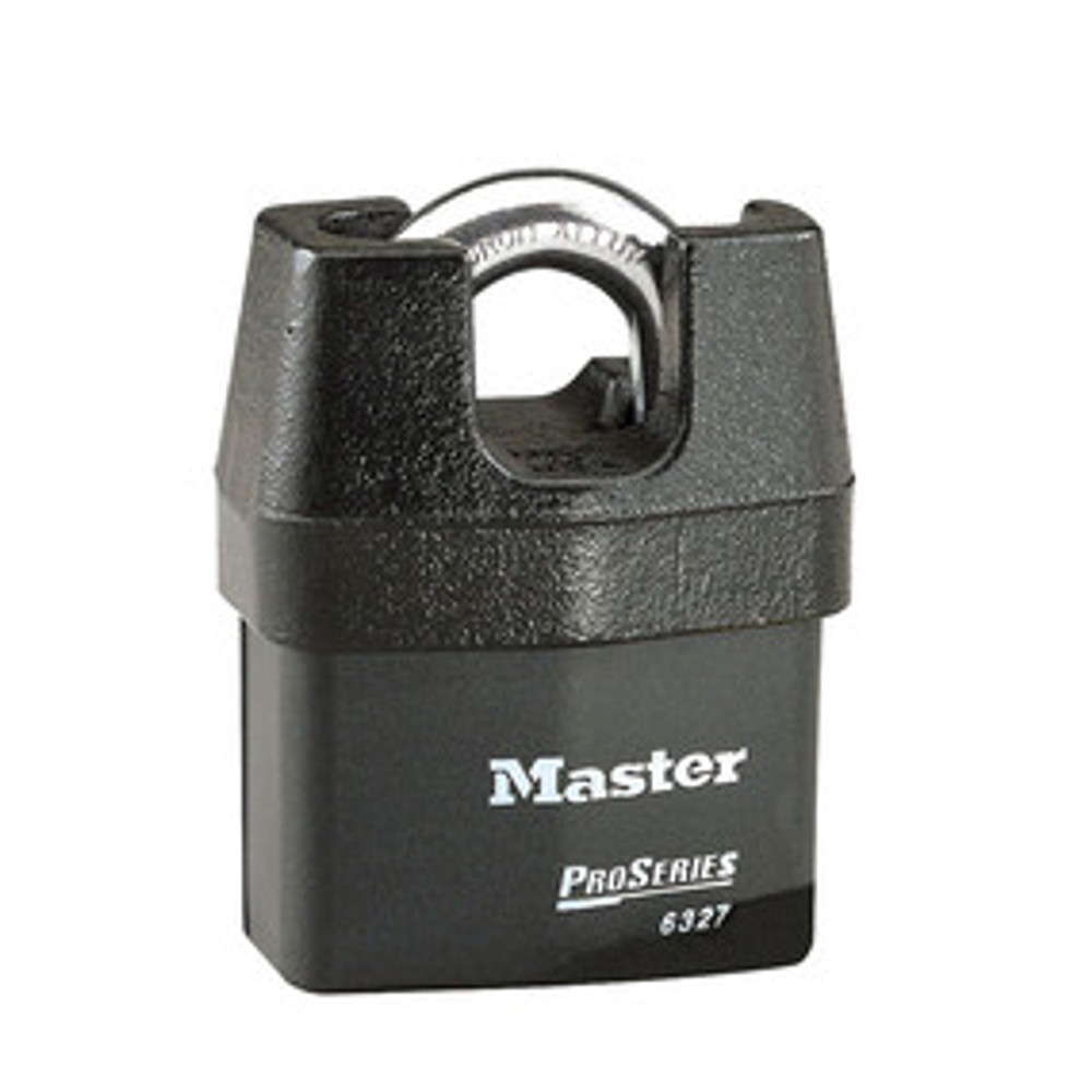 Master Lock 6327KA 2-5/8in (67mm) Wide ProSeries® Shrouded Laminated Steel Rekeyable Pin Tumbler Padlock, Keyed Alike