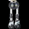 "Werner R413008LE-R 8FT  ""Bantam"" LEADING EDGE SRL | Alum Rebar Hook - Twin Leg"