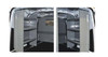 """Adrian Steel 5128 - Shelving Starter Package, Gray, Transit Connect, 120"""""""