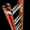 D6200 Series Fiberglass Extension Ladder - Top View