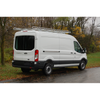 "Topper #458120 10' Knocked-Down Van Rack w/60"" Crossbars - 2015 & up Ford Transit Van with 130"" WB - Med/Low Roof"