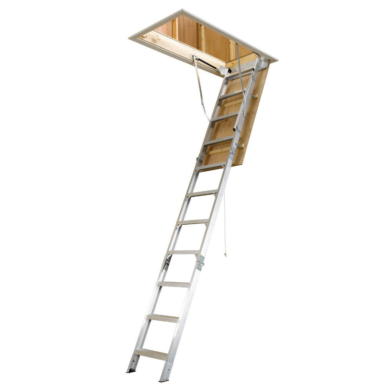Aluminum / Steel Attic Ladders