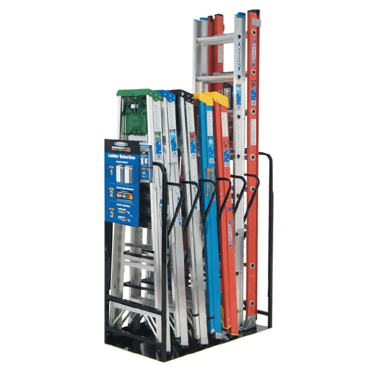 Ladder Display Racks