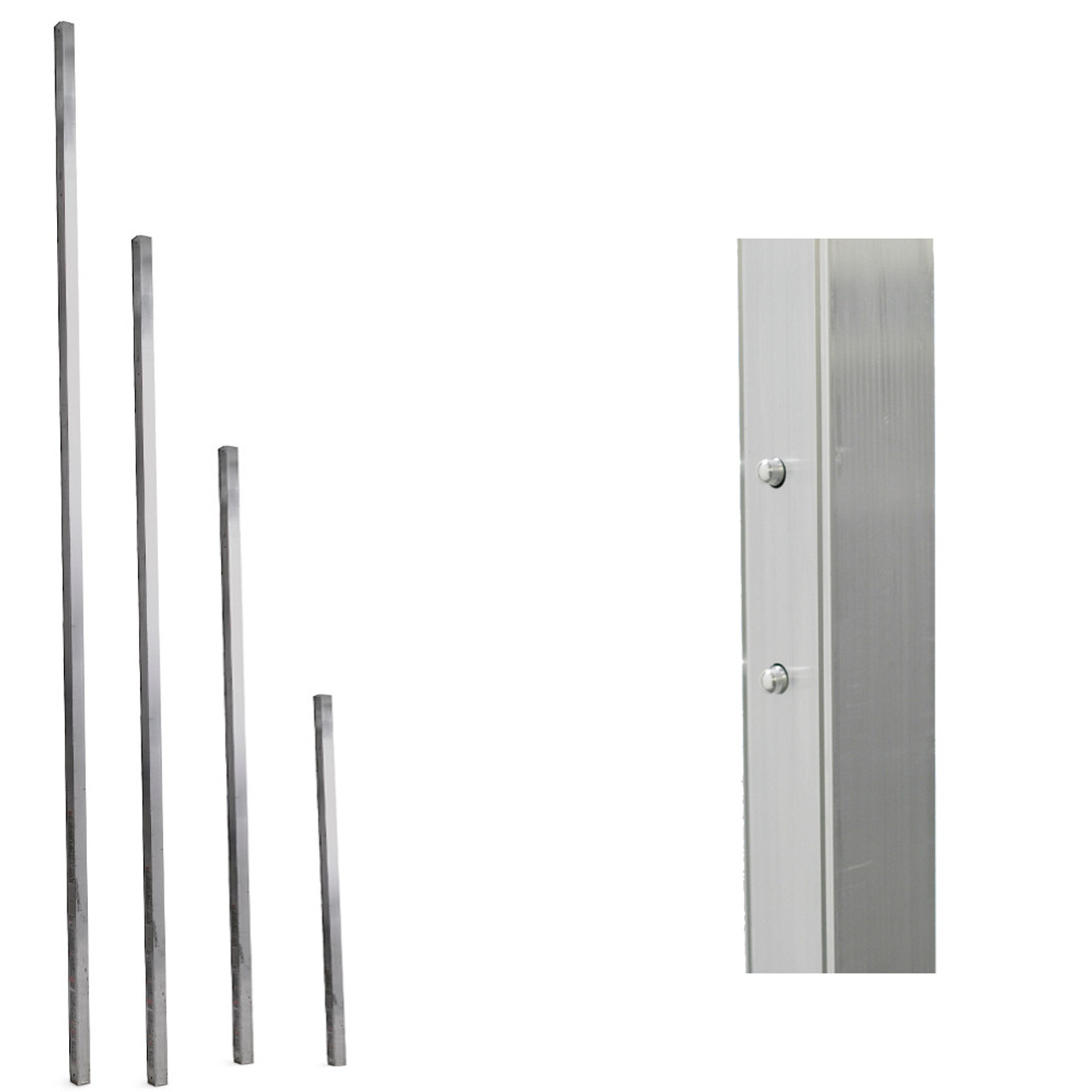 Werner Aluminum Pump Jack Poles Connector Feet Industrial