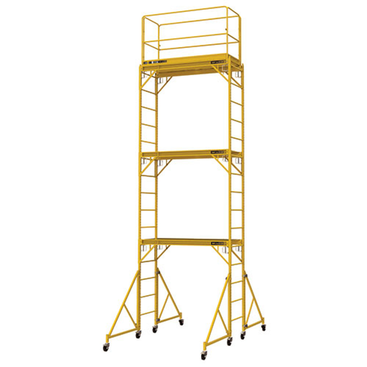 Metaltech I T3cisc 18 High Baker Style Scaffold Tower