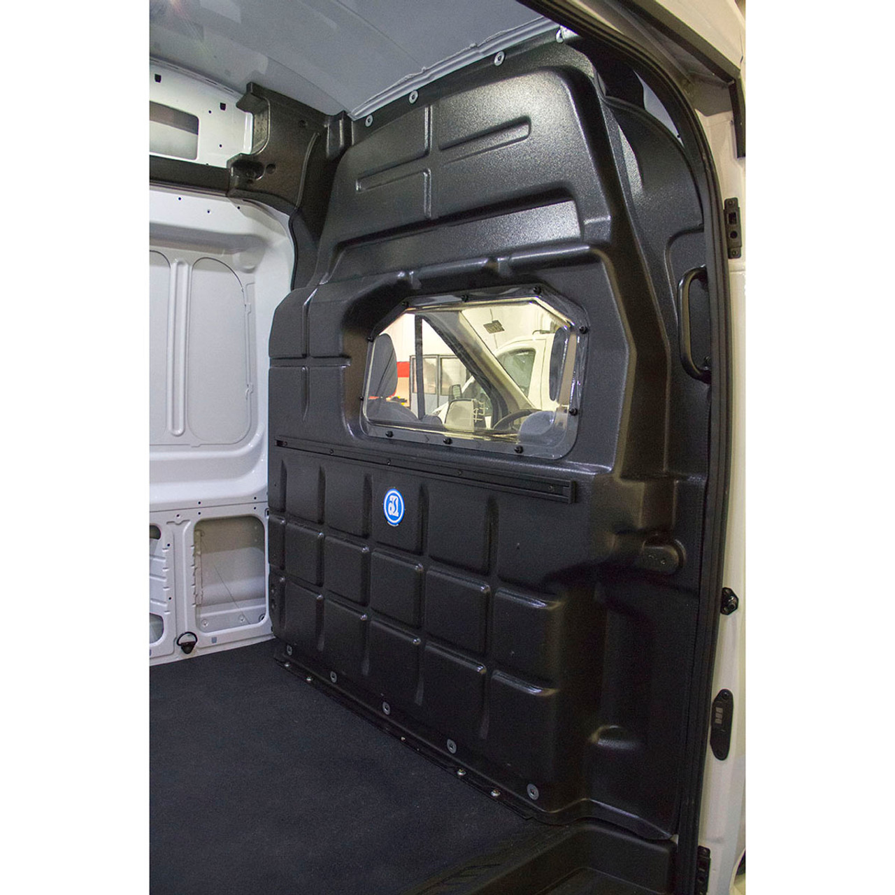 Adrian Steel Company #PARFTH Composite Partition w/window | Ford Transit,  High Roof