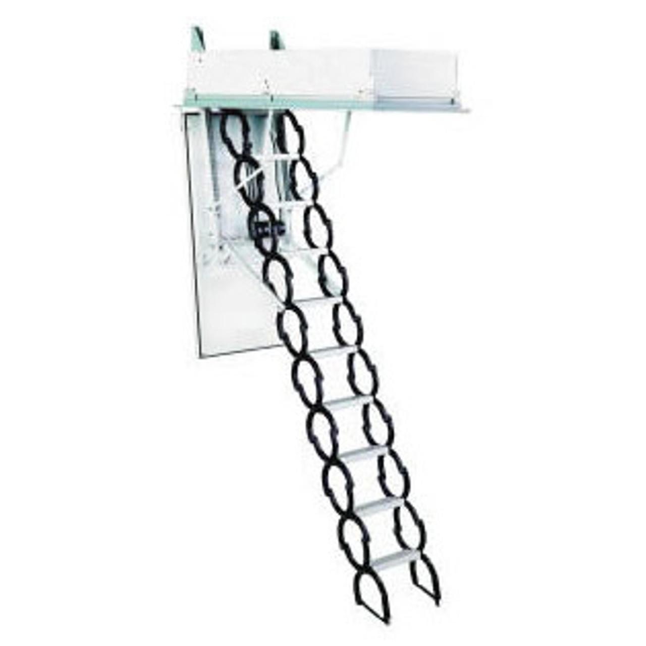 Scissor Telescoping Attic Ladders