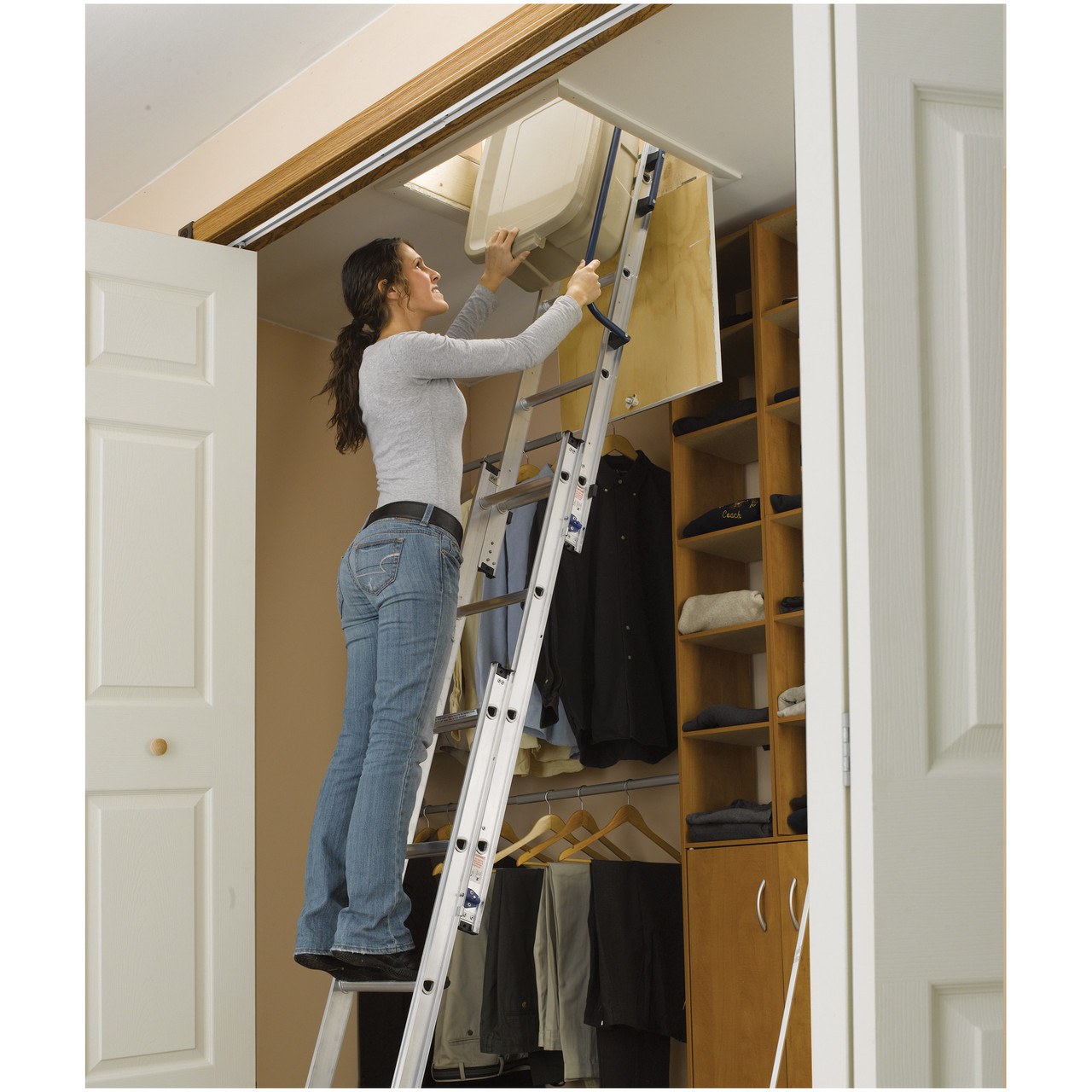Compact Attic Ladders