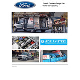 Ford Transit Connect UpFit Catalog