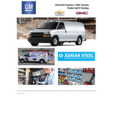 GM Express / Savana Van UpFit Catalog