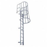 Cotterman-FWC Series Fixed Ladders w/ Cage & WT