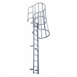 Cotterman FWC Series Fixed Ladders w/ Cage & WT