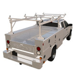 Over the Cab - Open Bed Service Bodies-Solid Top