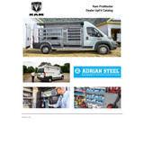 Ram ProMaster City UpFit Catalog