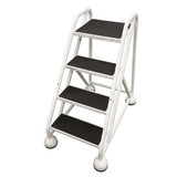 Alum - MasterStep Ladders | Double Top Step