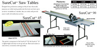 Van Mark Sure Cut Saw Tables