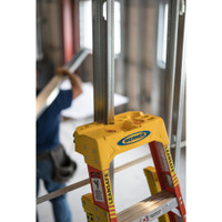 "Werner L6200 Series ""LEANSAFE"" Type IA 300 lb Rated Fiberglass Stepladder"