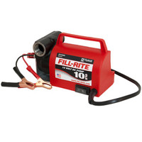 Fill-Rite FR1612 12 VDC: Portable 12V DC 1/5 HP 3/4 in NPT Inlet No Nozzle