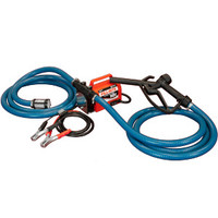 Fill-Rite FR1614 12 VDC: Portable 12V DC 1/5 HP Rotary Vane 3/4 in NPT Inlet 3/4 in Plastic Nozzle