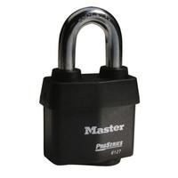 Master Lock 6127KA 2-5/8in (67mm) Wide ProSeries® Weather Tough® Laminated Steel Rekeyable Pin Tumbler Padlock, Keyed Alike