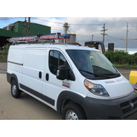 Adrian Steel #DD61PML118 Passenger Side Drop Down Ladder Rack, ProMaster Low Roof, 118""