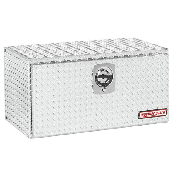 Weather Guard Model 636-X-02 Underbed Box, Aluminum, Compact, 6.5 cu ft