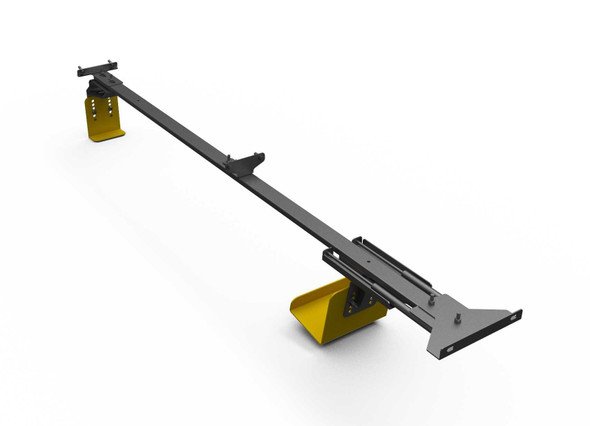 """Adrian Steel #LK-TCL Ladder Keeper, Gray, Transit Connect, 120"""""""