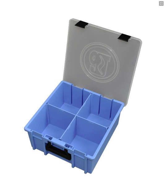 Adrian Steel #PPCL Large Portable Parts Case, Blue