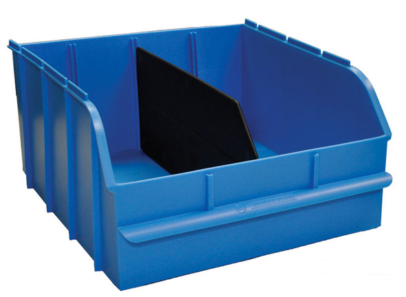 "Adrian Steel #SBIN120614 Snap In Bin, 12"", 12w x 6.5h x 13d, Blue"