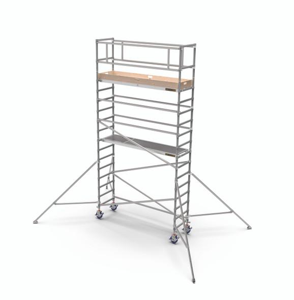 MetalTech Span 400 Aluminum Scaffold Narrow Tower Kits | 1587 lb. Capacity
