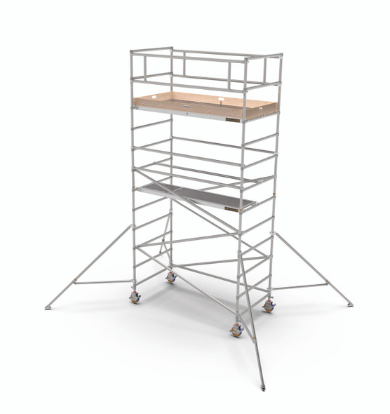 MetalTech Span 400 Aluminum Scaffold Wide Tower Kits | 1587 lb. Capacity