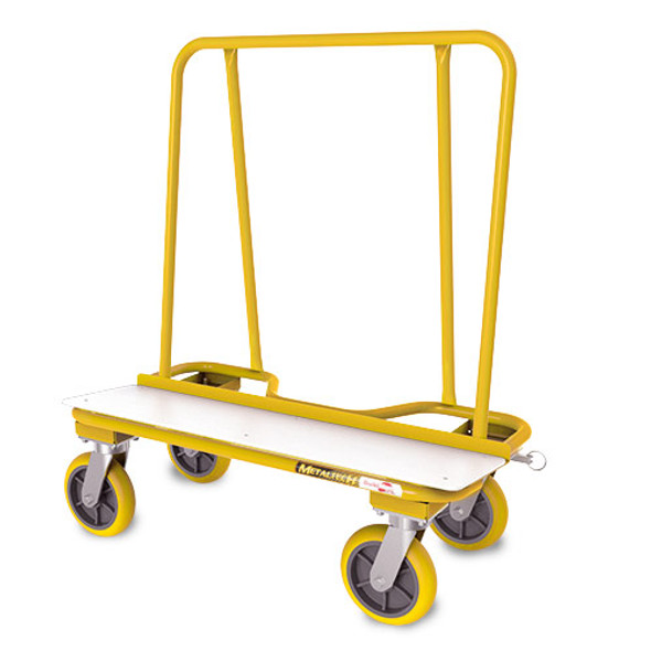 MetalTech I-BMD Wall Hauler Series 2000 Drywall Carts - Yellow | 3,000 lb. Capacity