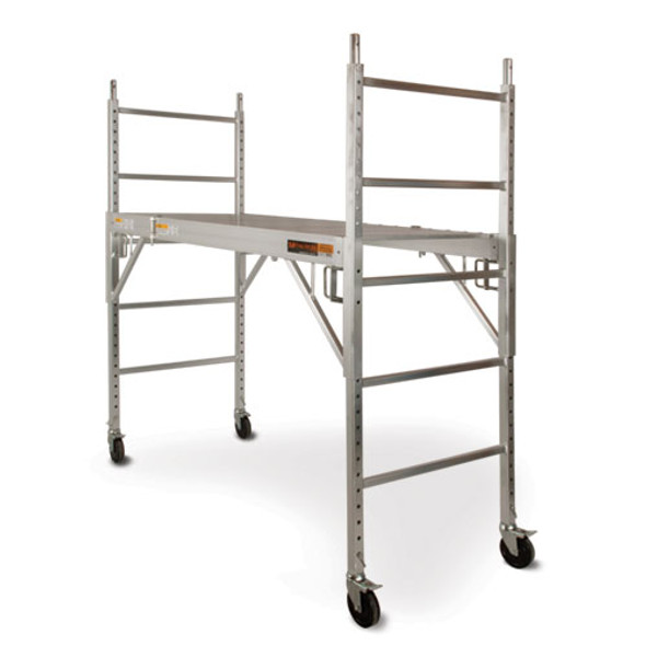 MetalTech I-CAISC ALU Series 6′ Baker Type Aluminum Scaffolding | 700 lb. Capacity