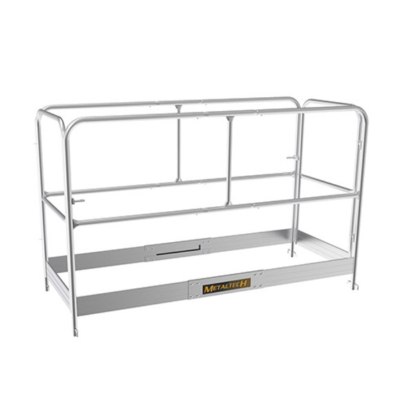 MetalTech I-CAISCGR Guardrail System for ALU Series 6′ Baker