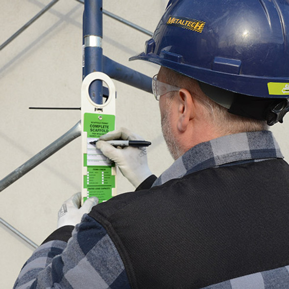 MetalTech M-T Scaffold Safety Tags