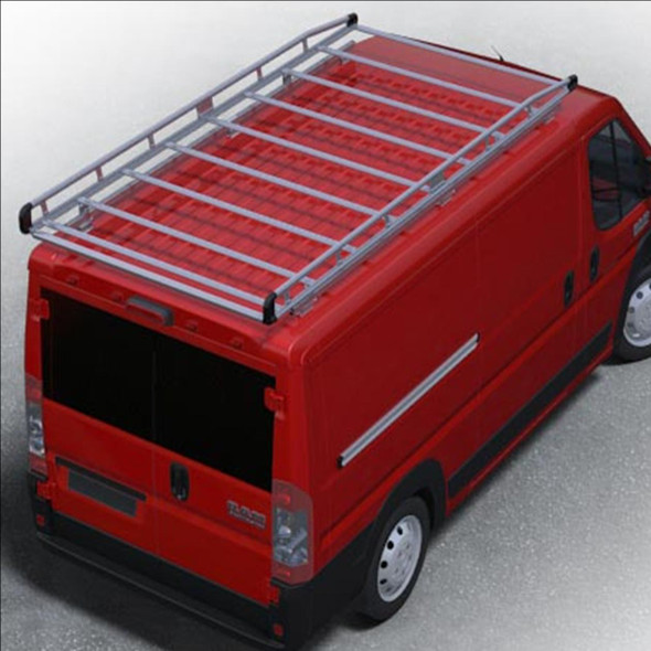 "Prime Design AR1425 Prime Design AluRack / ProMaster 159"" Extended High Roof"