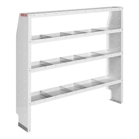Weather Guard Model 9376-3-03 Adjustable 4 Shelf Unit, 60 in x 60 in x 13-1/2 in