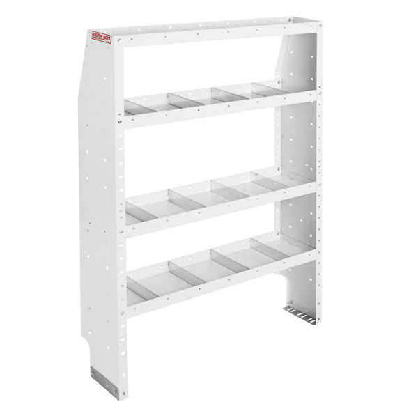 Weather Guard Model 9374-3-03 Adjustable 4 Shelf Unit, 42 in x 60 in x 13-1/2 in