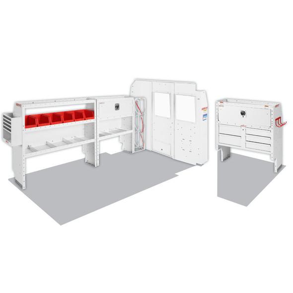 Weather Guard Model 600-8133R HVAC/Mechanical Van Package, NV2500, 130 WB